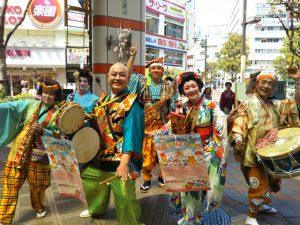 4月29日 蒲田西口商店街「ファミリーカーニバル」2