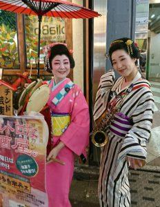 新宿歌舞伎町「半兵ヱ」2店舗のチンドン屋デーです